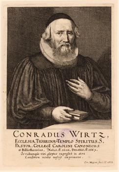 Porträt Hans Konrad Wirz (1606 - 1667).