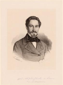Porträt Jacob Wittmann (1811 - 1869).