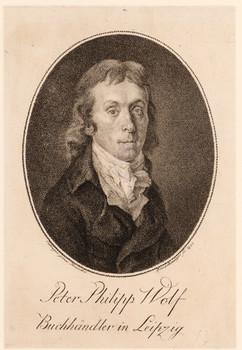 Porträt Peter Philipp Wolf (1761 - 1808).