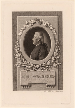 Porträt Georg Philipp Wucherer (1734 - 1805).