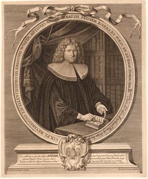 Porträt Johann Wülfer (1651 - 1724).