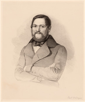 Porträt Gustav Carl Würger.