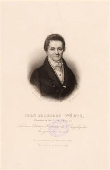 Porträt Jean Godefroy Würtz (1768 - 1841).