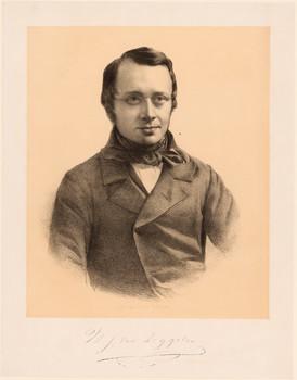 Porträt Willem Josephus van Zeggelen (1811 - 1879).