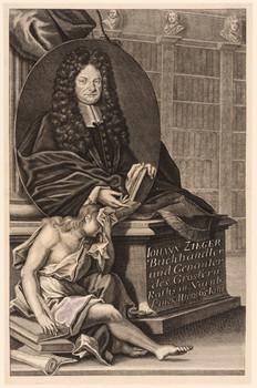 Porträt Johann Zieger (1646 - 1711).