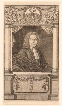 Porträt Christoph Zunckel (1670 - ).