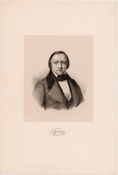 Porträt Jakob Friedrich Liesching (1813 - 1845).