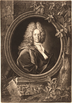 Porträt Christoph Weigel (1654 - 1725).