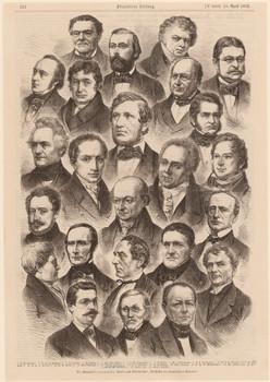 Die Mitarbeiter von Heeren's, Ukert's und Giesebrecht's 'Geschichte der europäischen Staaten'.