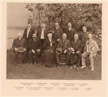 Gruppenbildnis (Weltausstellung Chicago 1893).