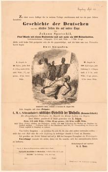 Verlagsanzeige mit bildlicher Darstellung.