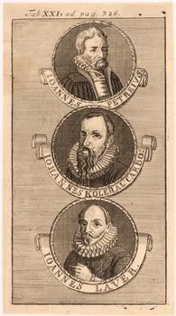 Porträttafel: Nürnberger Buchdrucker.