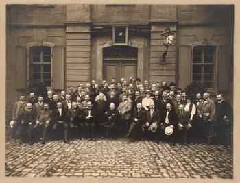Bibliothekartag Bamberg 1907.