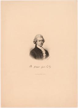 Porträt Gotthold Ephraim Lessing (1729 - 1781).