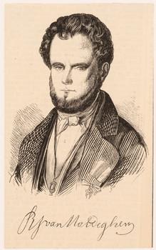 Porträt Robert Julien van Maldeghem (1810 - 1893).