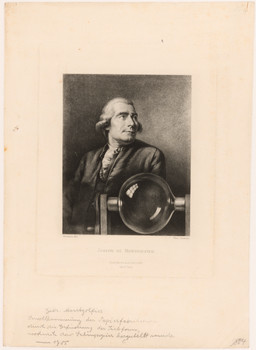Porträt Michel Joseph de Montgolfier (1740 - 1810).