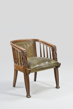 Sessel aus dem Arbeitszimmer Les Pins