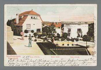 Künstlerkolonie Darmstadt: Haus Olbrich. Haus Keller. Haus Habich