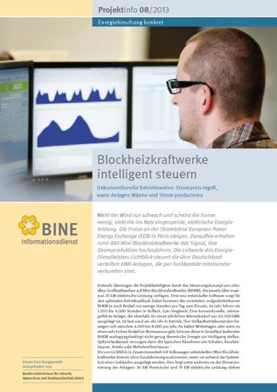 Blockheizkraftwerke intelligent steuern. Unkonventionelle Betriebsweise: Strompreis regelt, wann Anlagen Wärme und Strom produzieren.