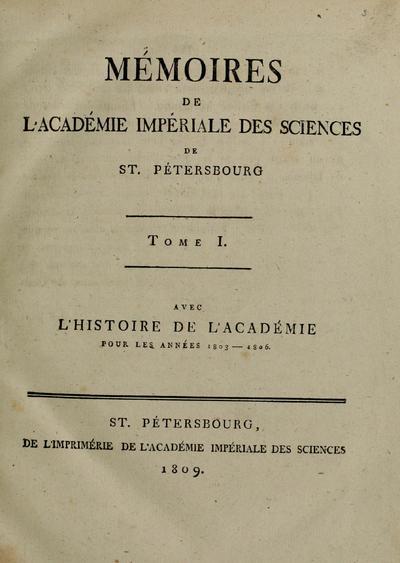 Mem.Acad.Sci.St.Petersb.