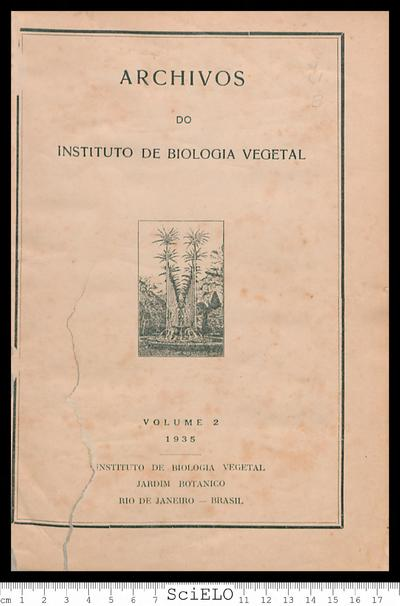 Archivos do Instituto de Biologia Vegetal