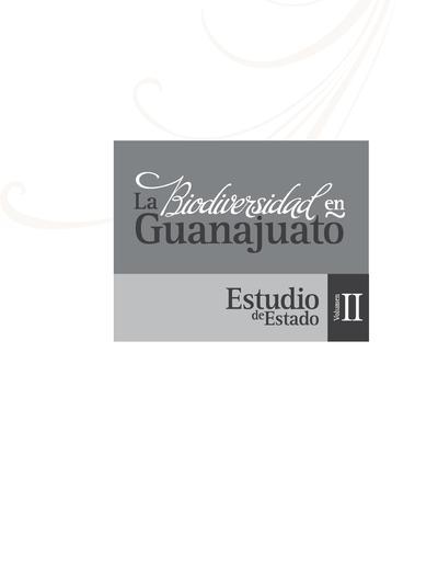 La biodiversidad en Guanajuato: estudio de Estado