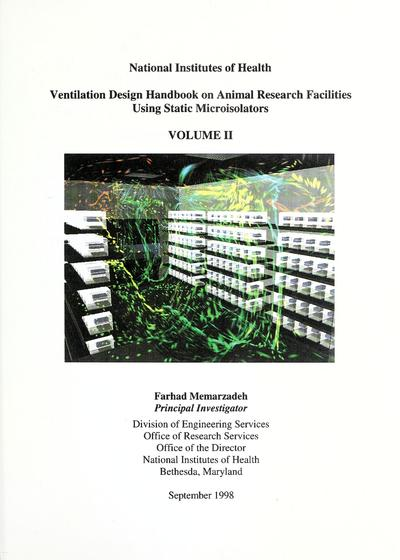 Ventilation design handbook on animal research facilities using static microisolators /