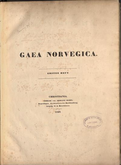 Gaea Norvegica /