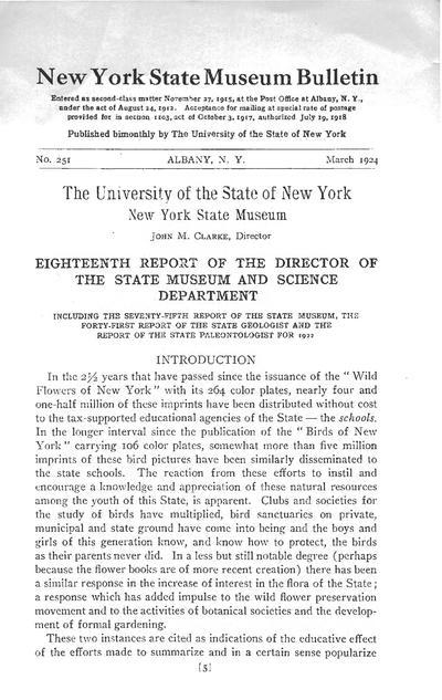 New York State Museum bulletin.