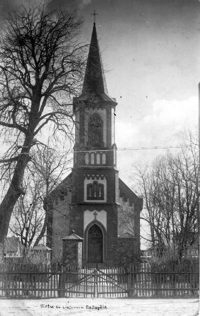 Biržų Ev. Liuteronų Bažnyčia