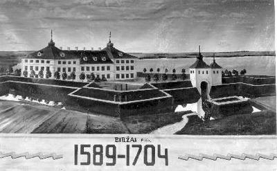 BIRŽAI Pilis. / 1589-1704
