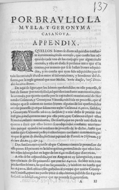 Por Braulio Lamuela, y Geronyma Casanova : appendix
