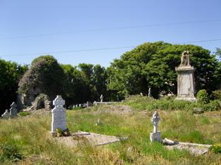 Saint Iberius's Graveyard