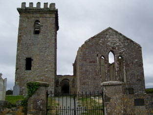 Templetown Church (Templetown or Kilcloghan)