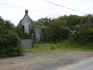 Templetown Catholic Chapel later Templetown Paroch