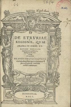 De Etruriae regionis