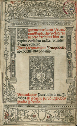 Commentariorum Vrbanorum