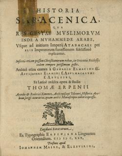 Historia Saracenica