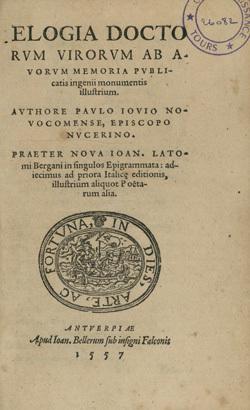 Elogia doctorum virorum.
