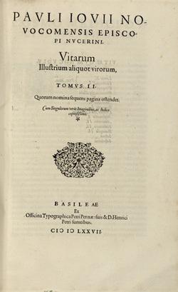 Vitarum Illustrium aliquot virorum, Tomus II