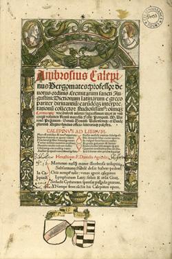 Dictionum latinarum e greco pariter diriuantium