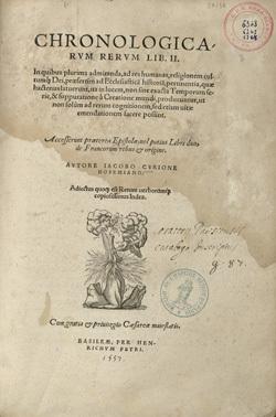 Chronologicarum rerum lib. II