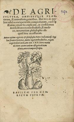 De agricultura omnibusque plantarum, et animalium generibus, libri XII