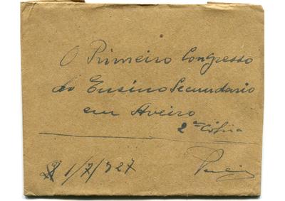 O primeiro congresso do ensino secundário em Aveiro