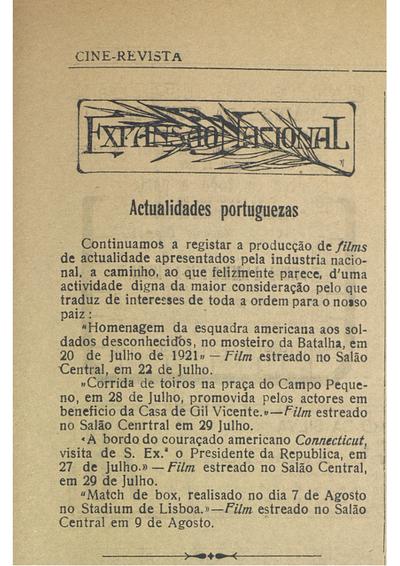 Actualidades portuguezas
