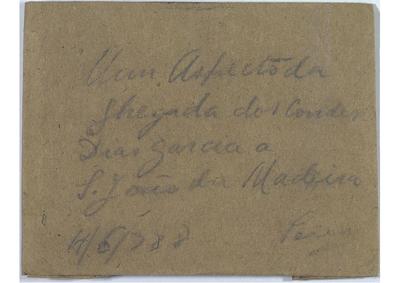 Um aspecto da chegada dos Condes Dias Garcia a S. João da Madeira