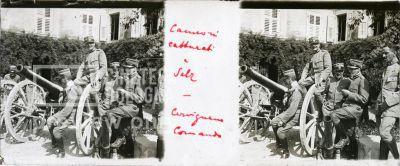 Cannoni catturati a Salz. Comando Cervignano