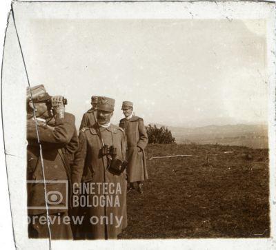 Prima Guerra Mondiale. Gruppo di militari
