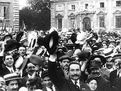 LA GRANDE GIORNATA STORICA ITALIANA: 20 MAGGIO 1915