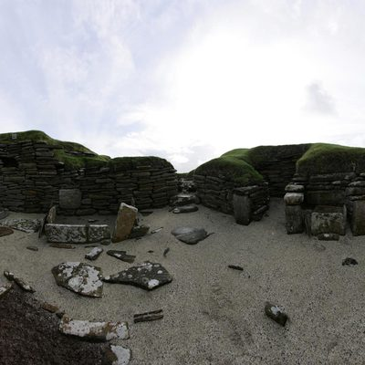 Panorama Movie of House 5, Skara Brae
